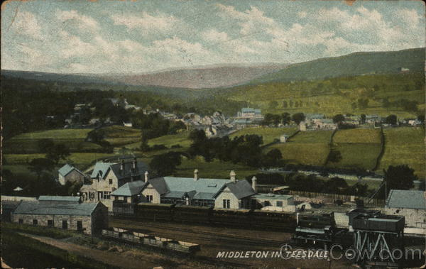 View of Town Middleton in Teesdale England