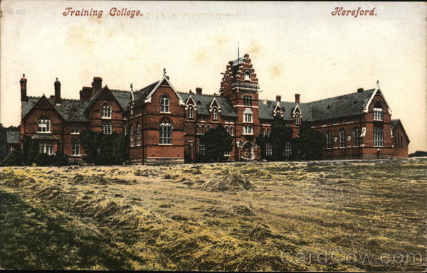 View of Training College Hereford England
