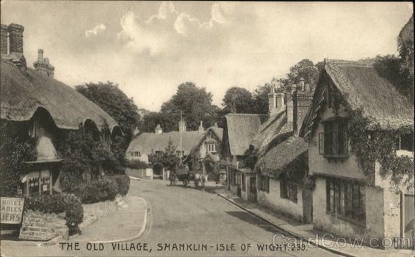 The Old Village, Shanklin Isle of Wight England