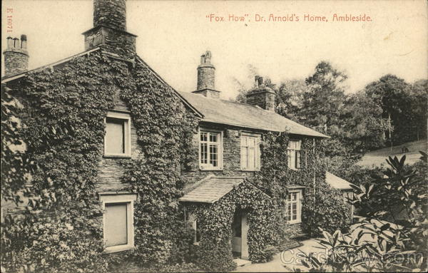 Fox How, Dr. Arnold's Home Ambleside England Cumbria