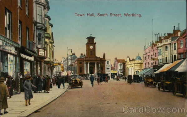 Town Hall, South Street Worthing England Sussex