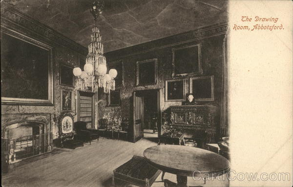 The Drawing Room Abbotsford Scotland