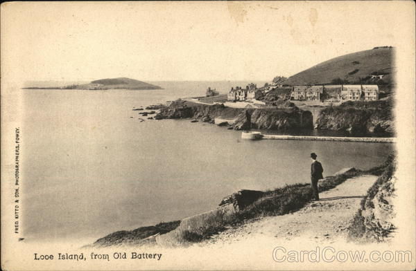 Looe Island from Old Battery UK