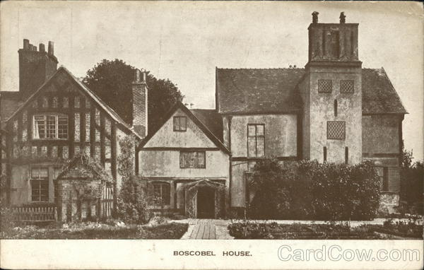 View of Boscobel House Stafford England