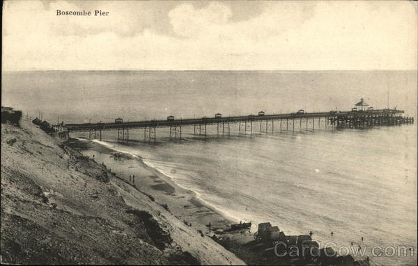 Boscombe Pier Bournemouth United Kingdom Dorset