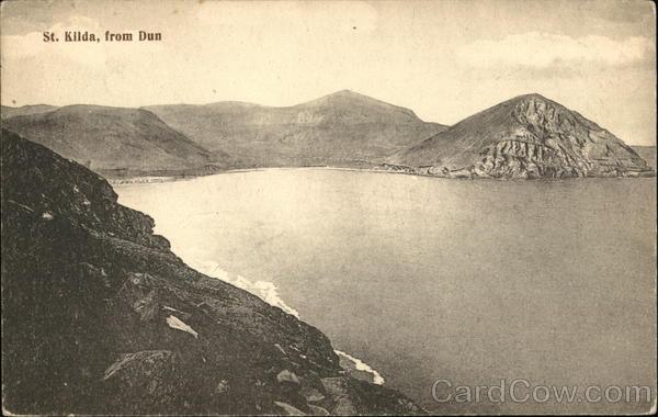 St. Kilda, From Dun Scotland