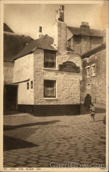 The Sloop Inn St. Ives England