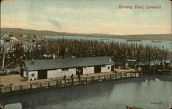 View of Herring Fleet