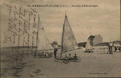 Groupe d'Aeroplages - Land Sailing Sail Wagons