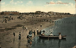 The Beach Postcard