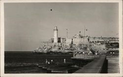 View of Morro Castle Taken From the Malecon (Ocean Driveway)