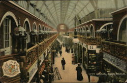 View of City Arcade Postcard