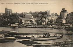 Castle From Eton College Boathouse