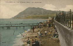 Children on the Strand, Co. Wicklow