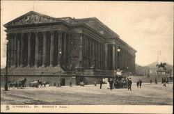 St. George's Hall Postcard