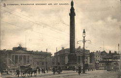 Wellington Monument and Art Gallery Postcard