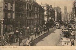 Looking Along Fleet Street