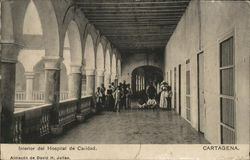 Interior del Hospital de Caridad
