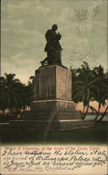 Statue of Columbus, at the Mouth of the Canal