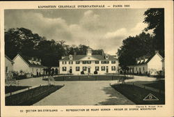Reproduction De Mount Vernon, Paris, 1931