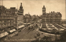 Prince's Street From Scott Monument Looking East