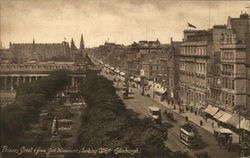 Princes Street (From Scott Monument) Looking West
