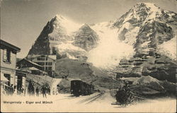 Eiger and Monch Mountains