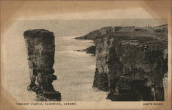 View of Yesnaby Castle, Orkney