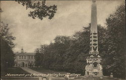 Haileybury College - Monument and Avenue