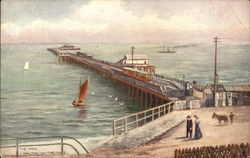 View of the Pier Postcard