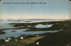 Panoramic View From Gibb's Hill Lighthouse
