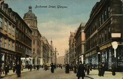 Looking Along Buchanan Street