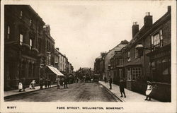 View of Fore Street, Somerset