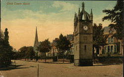 View of Clock Tower Postcard