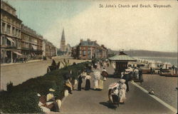 ST. John's Church and Beach