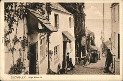 High Street II Postcard