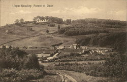 View of Town and Forest of Dean