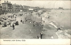 View of Town and Beach From Kirkley Cliffs