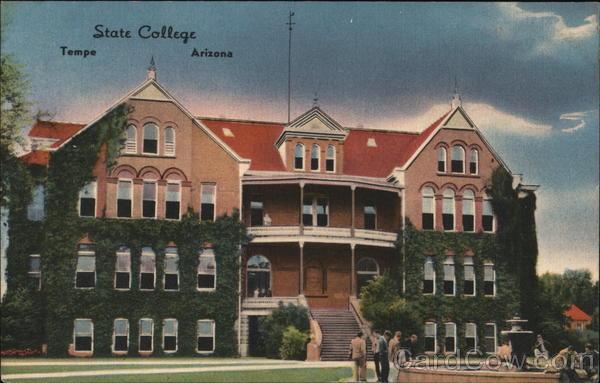 View of State College Tempe Arizona