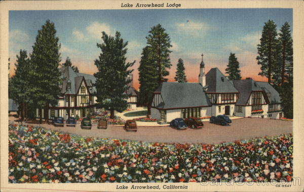 Lake Arrowhead Lodge California