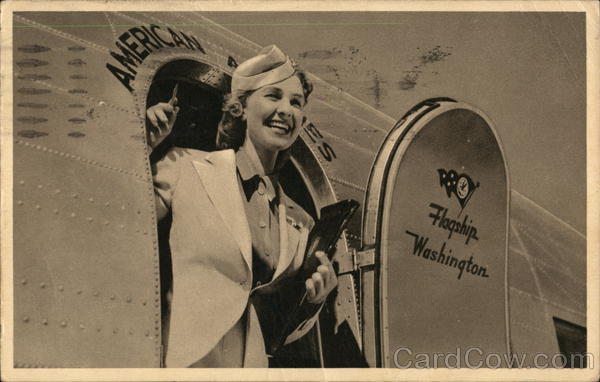 American Airlines Hostess (Flight Attendant) Aircraft