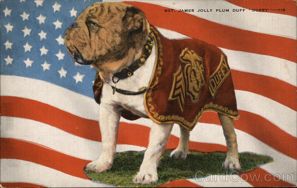 Sgt. James Jolly Pluf Duff Duffy Dogs