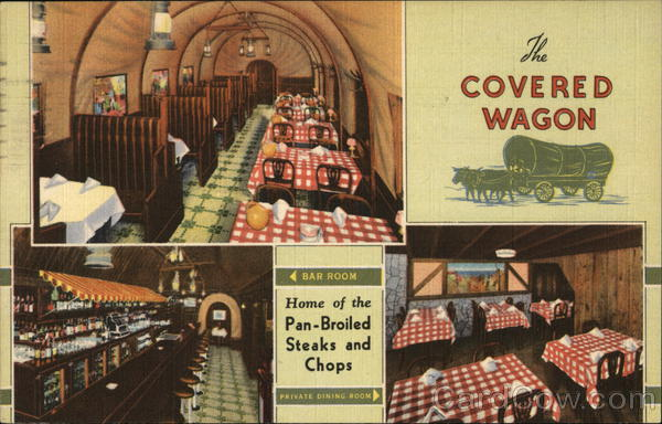 Covered Wagon Restaurant Chicago Illinois