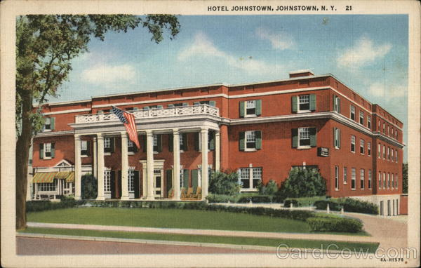 Image Is Loading Johnstown Ny Hotel Fulton County New York