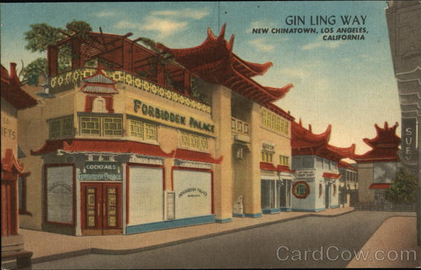 Gin Ling Way, Chinatown Los Angeles California