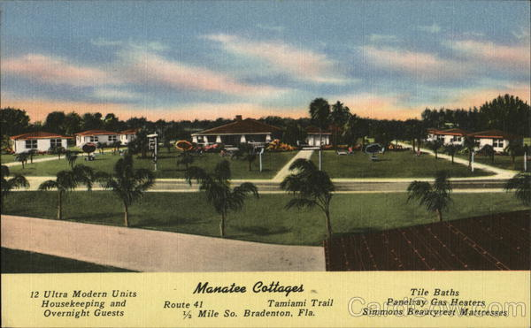 Manatee Cottages Bradenton Florida