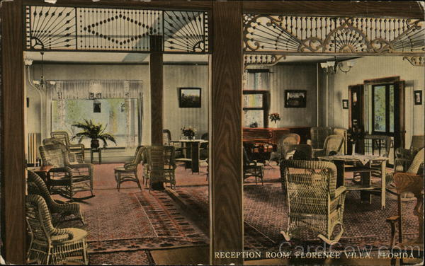 Reception Room, Florence Villa Florida