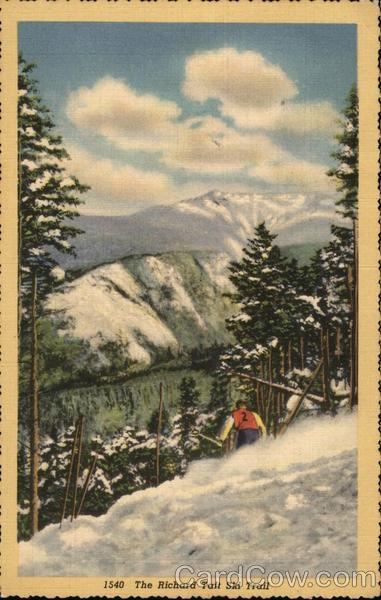 The Richard Taft Ski Trail, Mount Lafayette Franconia New Hampshire