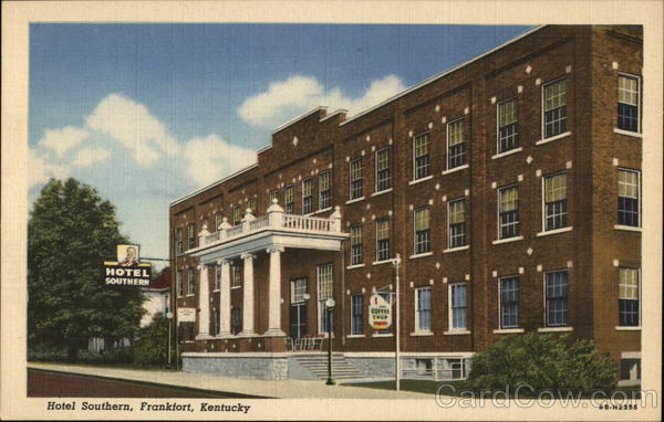 Hotel Southern Frankfort Kentucky