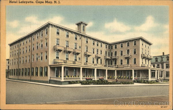 Hotel Lafayette Cape May New Jersey